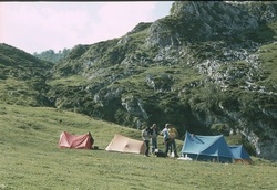 First camp near Ercina